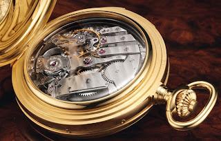 Mouvement quantième perpétuel répétition minutes montre de poche Breitling Bentley Masterpiece