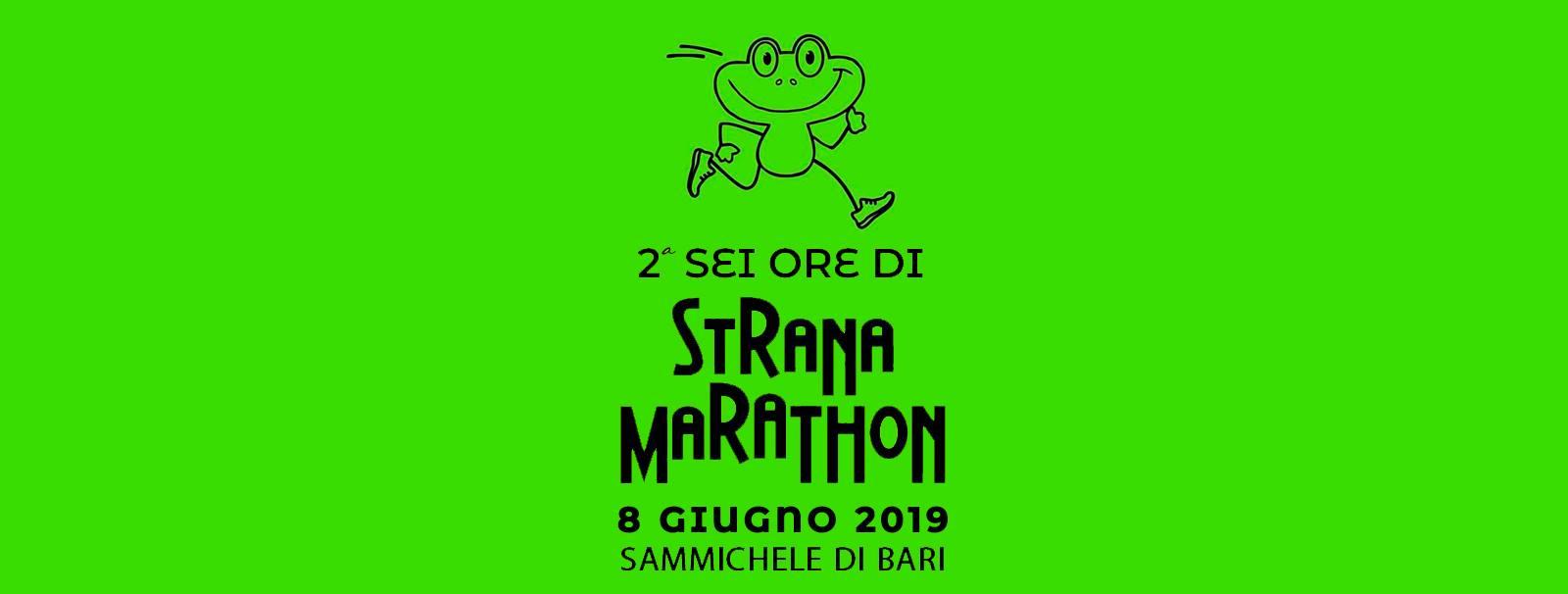6 Ore Stranamaraton - Iscrizioni su icron.it