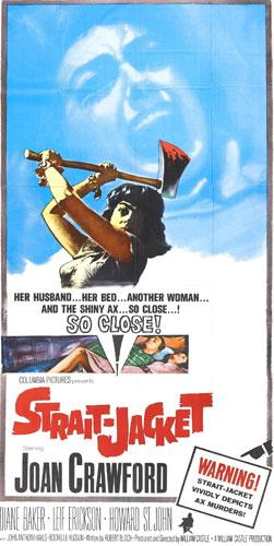 Poster - Strait-Jacket (1964)