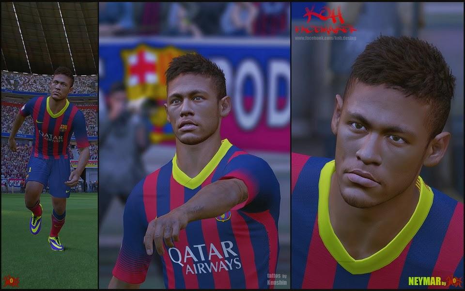 Neymar pes 2014