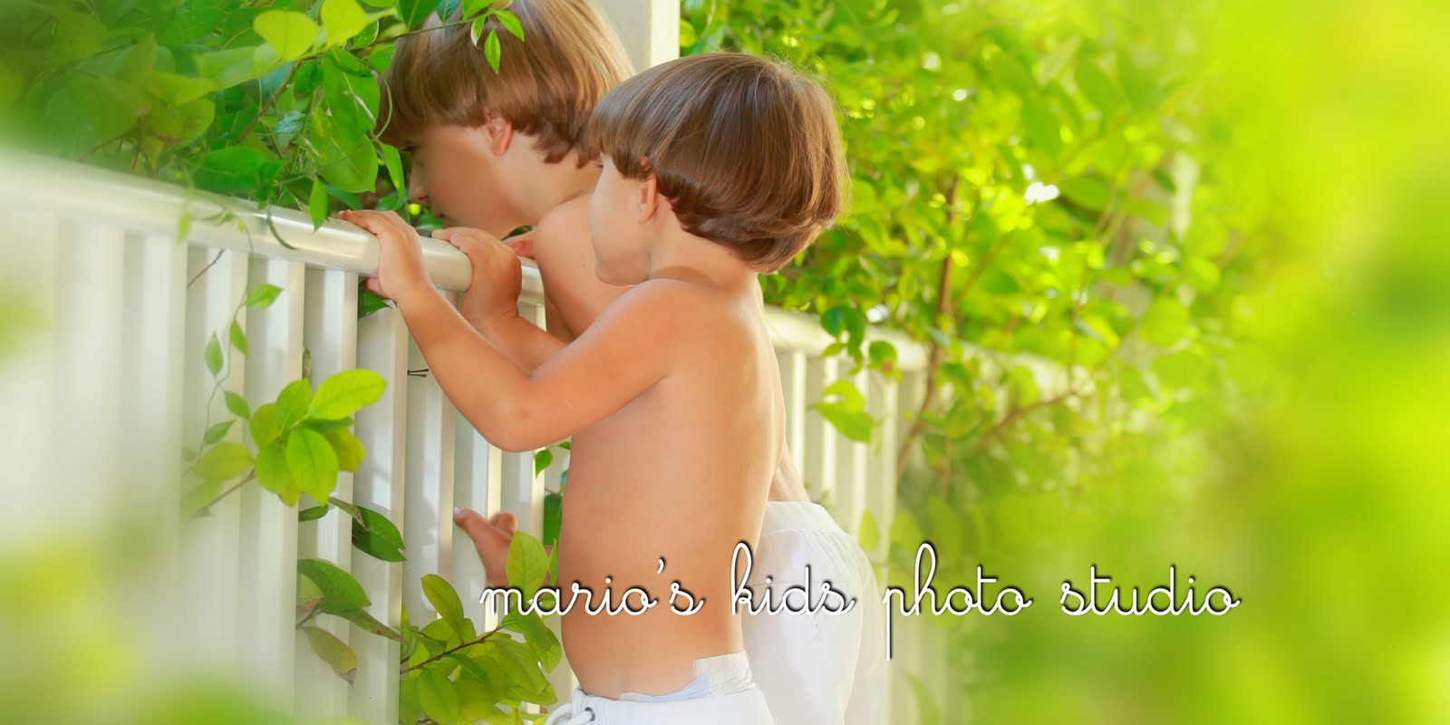 mario's kids photo studio