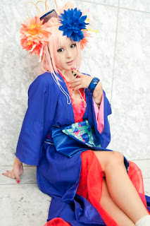 Sui Cosplay as Sheryl Nome from Macross Frontier