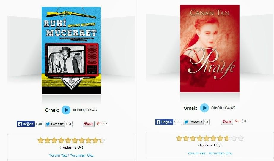 seslenen kitap satış sayfası