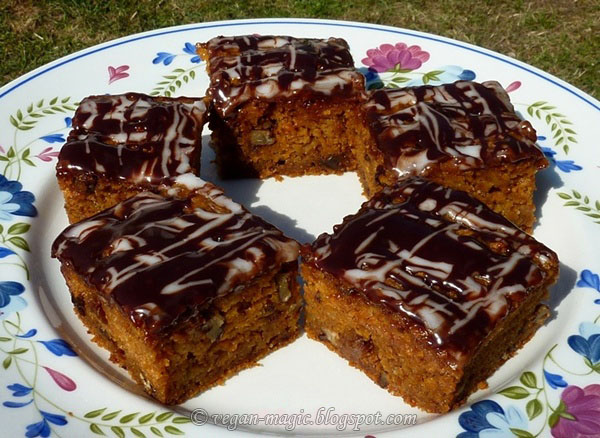 Carrot Cake - low fat, low sugar
