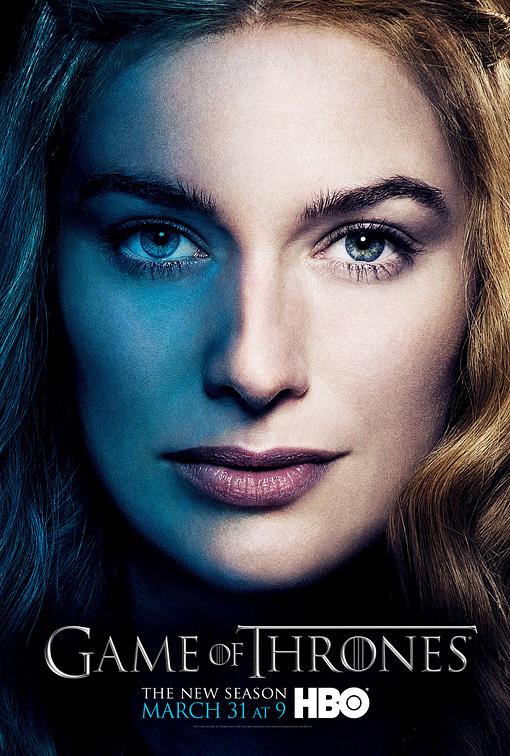 Cersei poster 3T - Juego de Tronos en los siete reinos