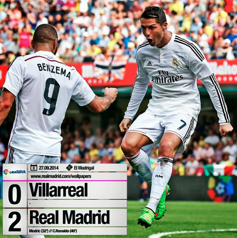 Real madrid tv villarreal 0 2 real madrid for Real madrid tv