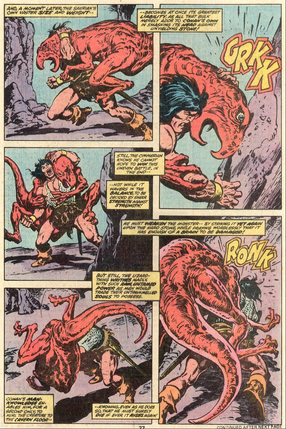 Conan the Barbarian (1970) Issue #95 #107 - English 16