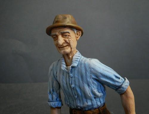 statuette presepe ritratto volti persone idee regalo natale orme magiche