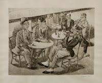 XAVIER NOGUES Café 1940
