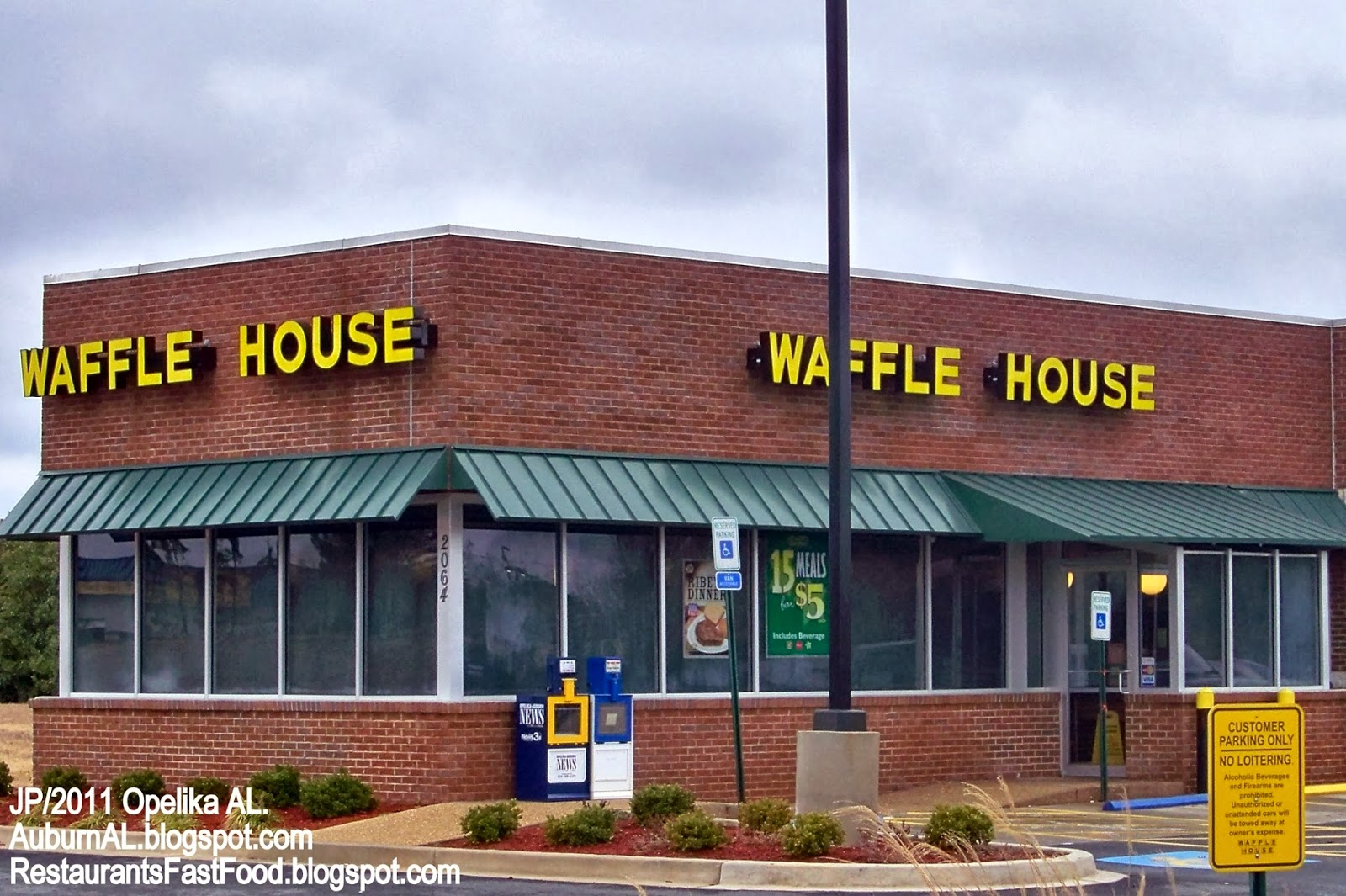 Alabama lee county salem - Waffle House Diner Opelika Alabama Interstate Dr Waffle House Diner Restaurant Opelika Alabama Lee County