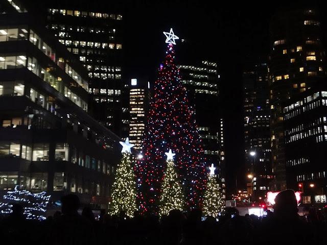 Vancouver Christmas tree lighting ceremony, 2013