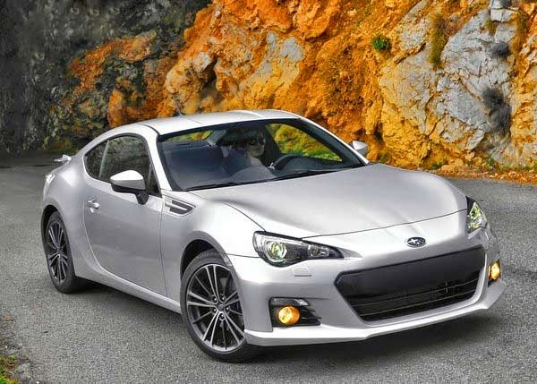 2014 Subaru BRZ STi Version Concept
