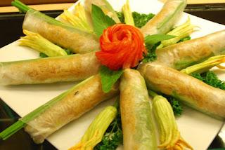 Vietnamese Vegetarian Eggrolls Recipe (Nem rán chay) 1