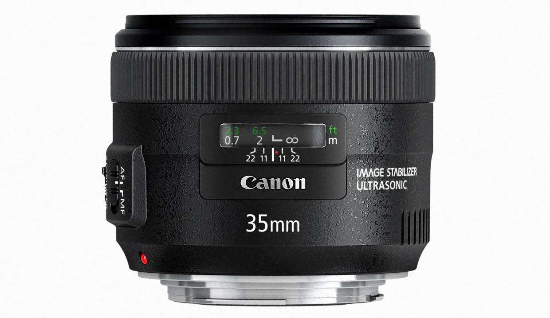 Spesifikasi dan Harga Lensa Canon EF 35mm f / 2 IS USM Terbaru
