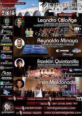 Expoluces 2015 arequipa