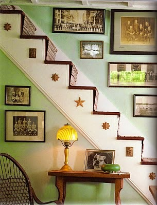 stair wall decorating ideas sample photos