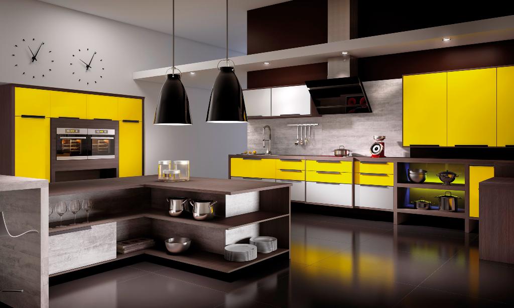 Arredamento Moderno Soggiorno Cucina PX76 » Regardsdefemmes