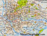 Downtown Guangzhou Map