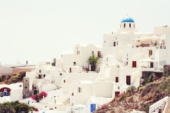 Photos of Santorini island by Liz of explore.dream.discover blog.