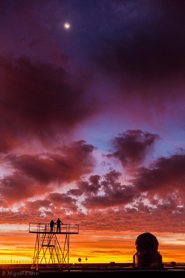 Một khung cảnh lãng mạn và Một bầu trời dễ thương. Tác giả : Miguel Claro.