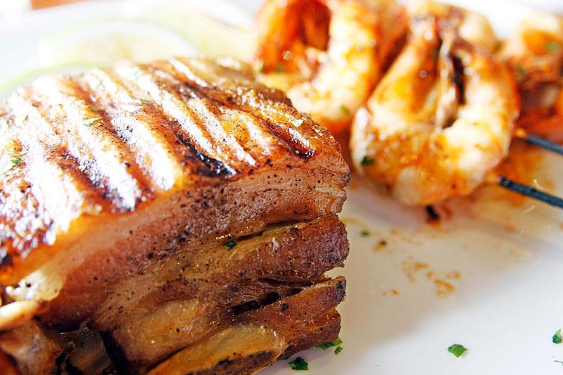 gostoso piri piri slab of pork