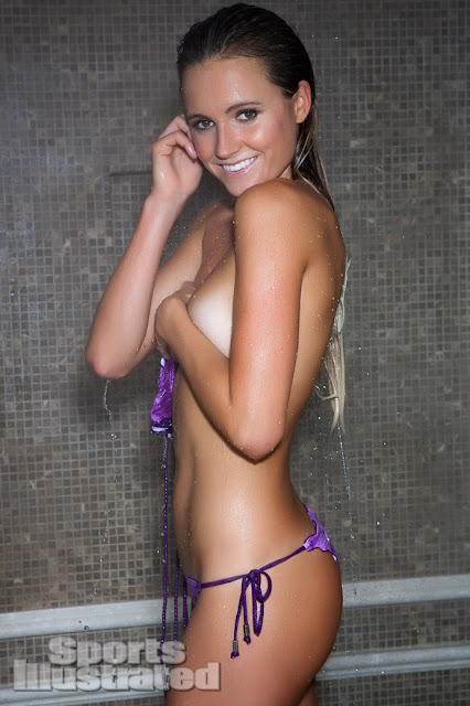 Alana Blanchard - Topless ( Covered ) - Sports Illustrated Swimsuit - Winter 2013