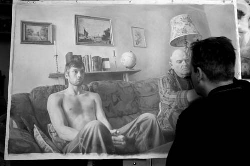 Lukisan Pensil Menyerupai Foto