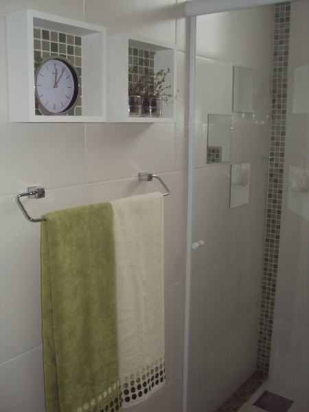 Casar & Morar Nicho de banheiro -> Nichos Mdf Banheiro