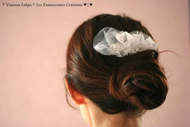 beauc accessoires de mariée en dentelle de calais, en tulle, organza , soie et satin. Brodé d eeprels et de cristal,