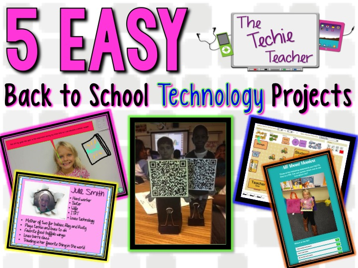 Classroom Technology Ideas ~ Five e a s y back to school tech projects for the