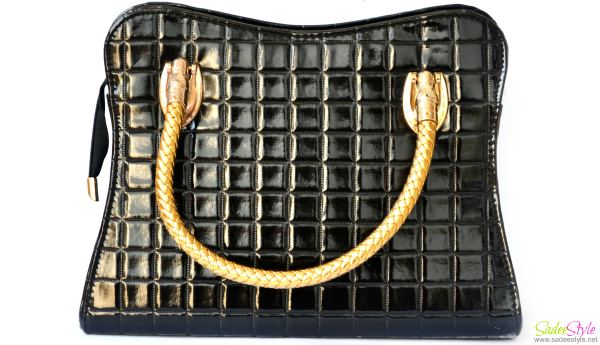 Black handbag review