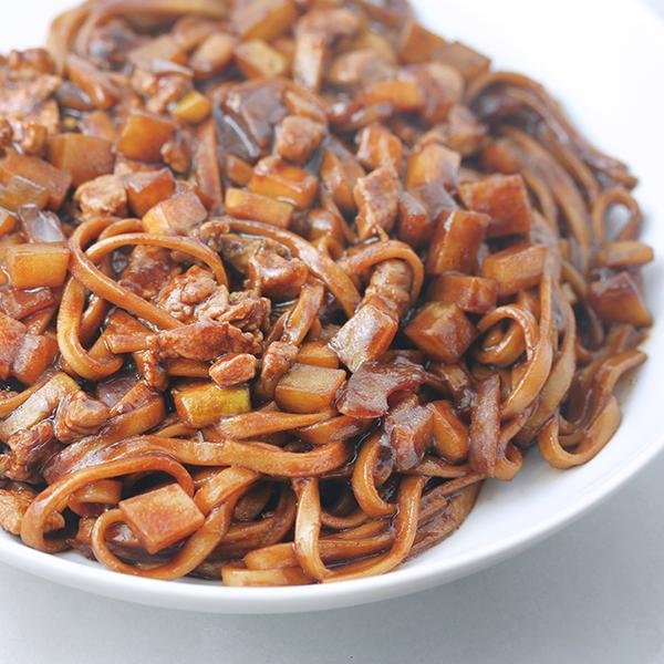 Jajangmyun, black bean noodles