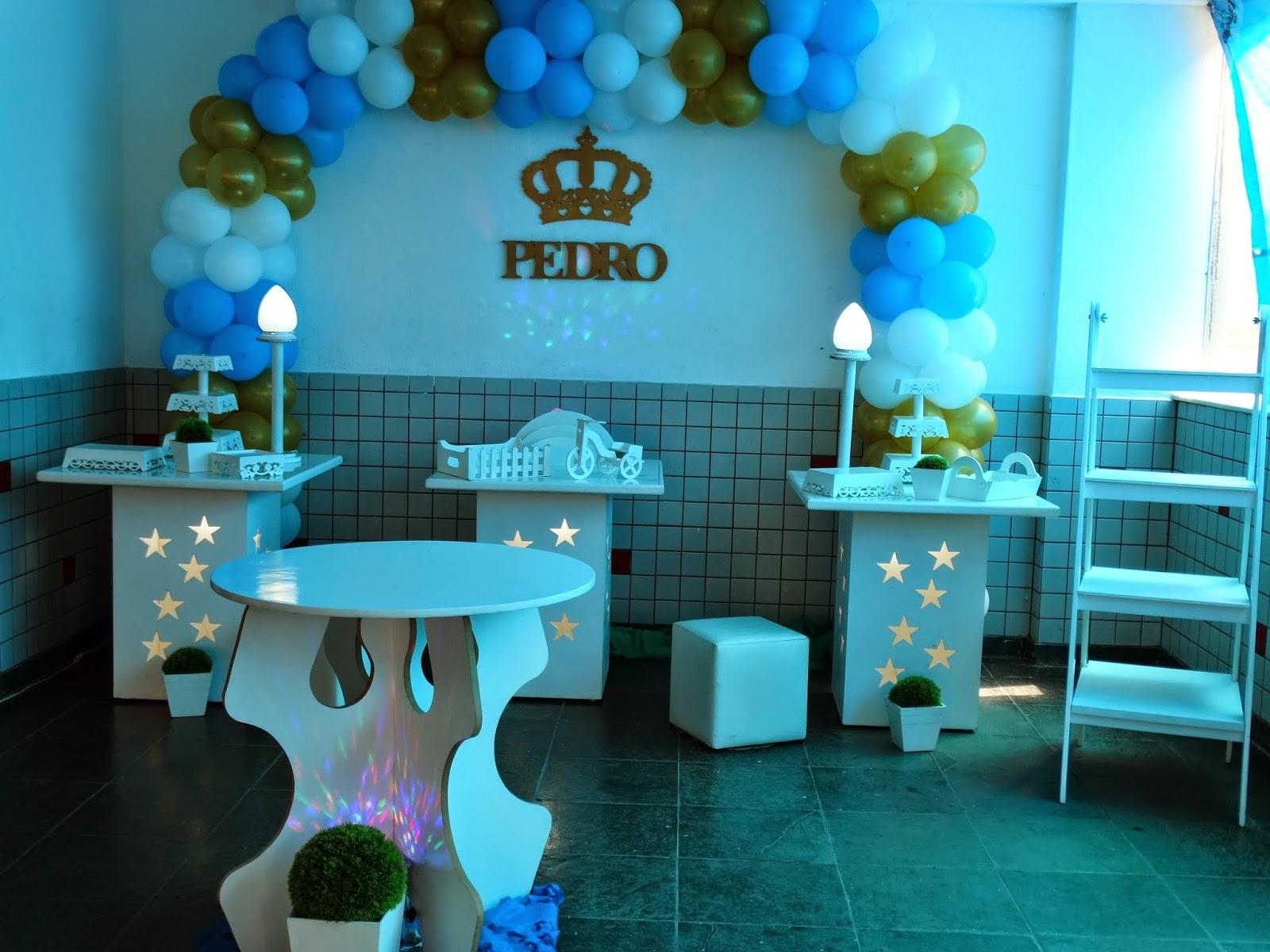 decoração provençal simples para festa de chá de bebê