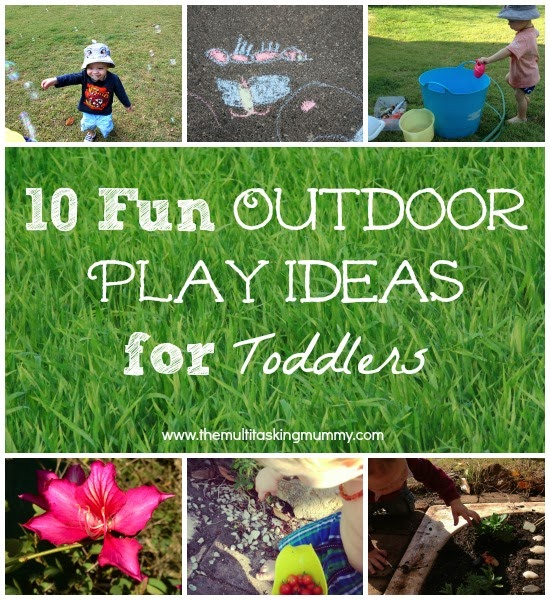 Fun Backyard Ideas For Toddlers : 10 Fun Outdoor Play Ideas for Toddlers #MummyMondays  The