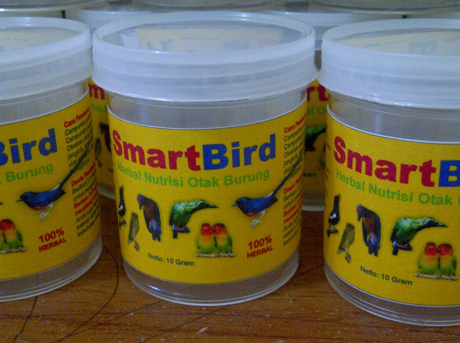 SmartBird Herbal Burung Pintar