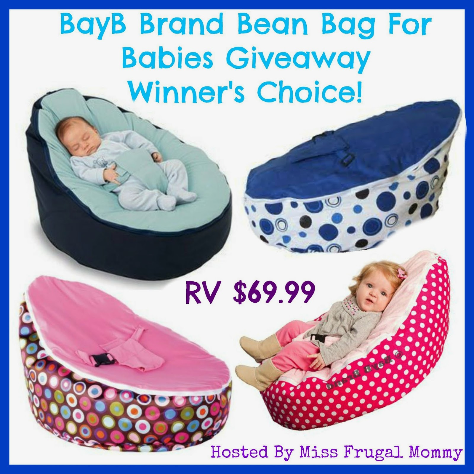 BayB Brand Baby Bean Bag Giveaway