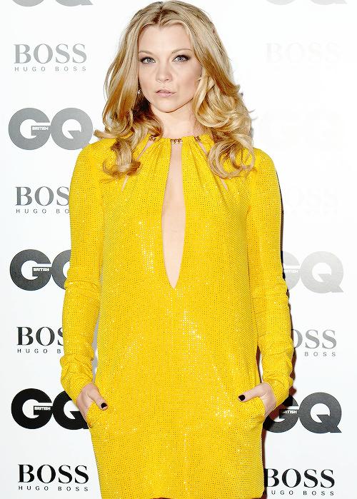 Natalie Dormer premios GQ 2014