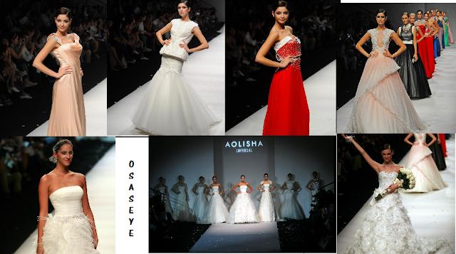Italian Aolisha wedding dress show