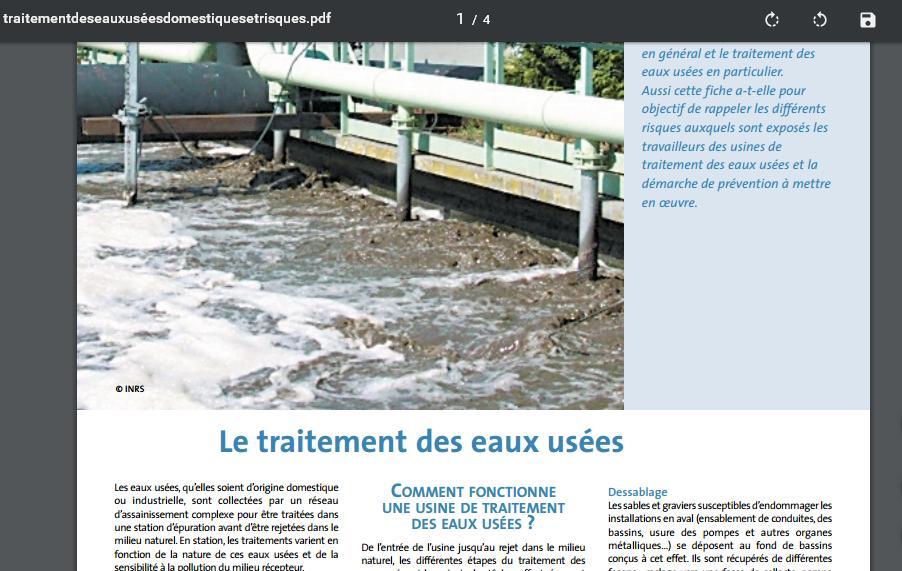 brochure de traitement des eaux us es domestiques et risques cours assainissement urbain. Black Bedroom Furniture Sets. Home Design Ideas