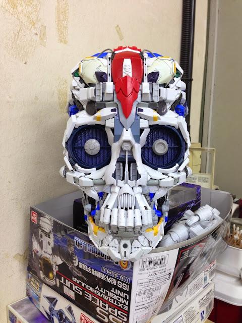 bandai gundam skull century model kits