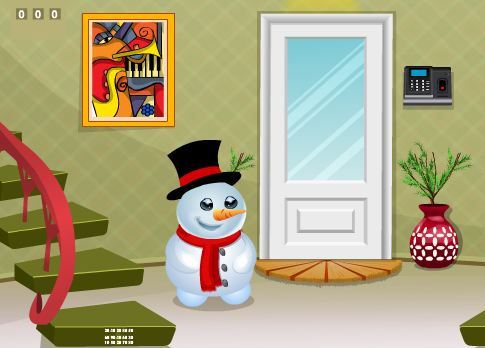 Play Games2Jolly Snowman House Escape