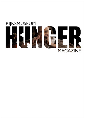Rijksmuseum 'Hunger' magazine cover