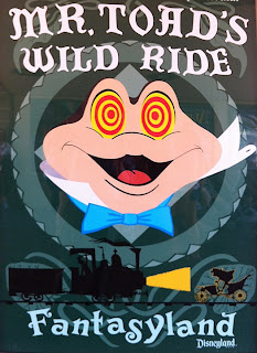 Mr. Toad's Wild Ride poster Fantasyland