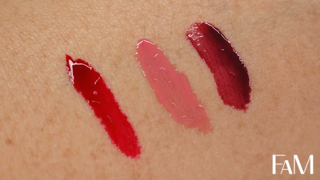 NYX Butter gloss set review - Red Velvet, Tiramisu and Devi'ls food cake