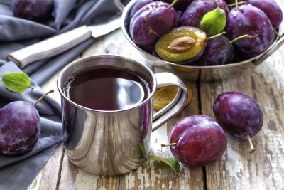 Syrups and fruit drinks for the constipation