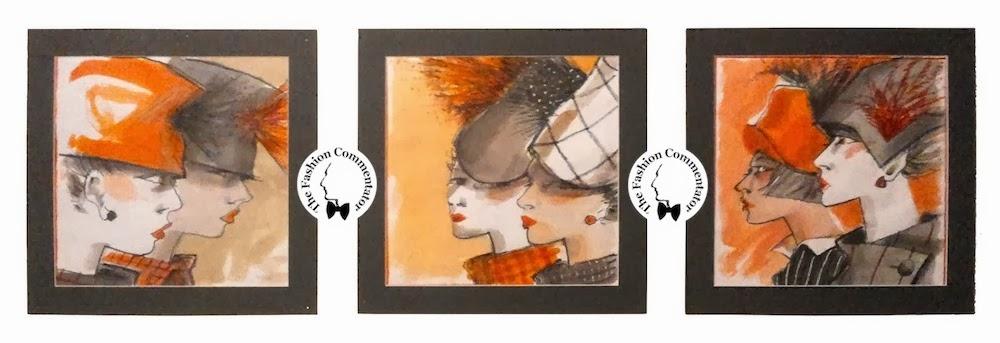 Mostra Cappello Firenze - Alberto Lattuada sketches