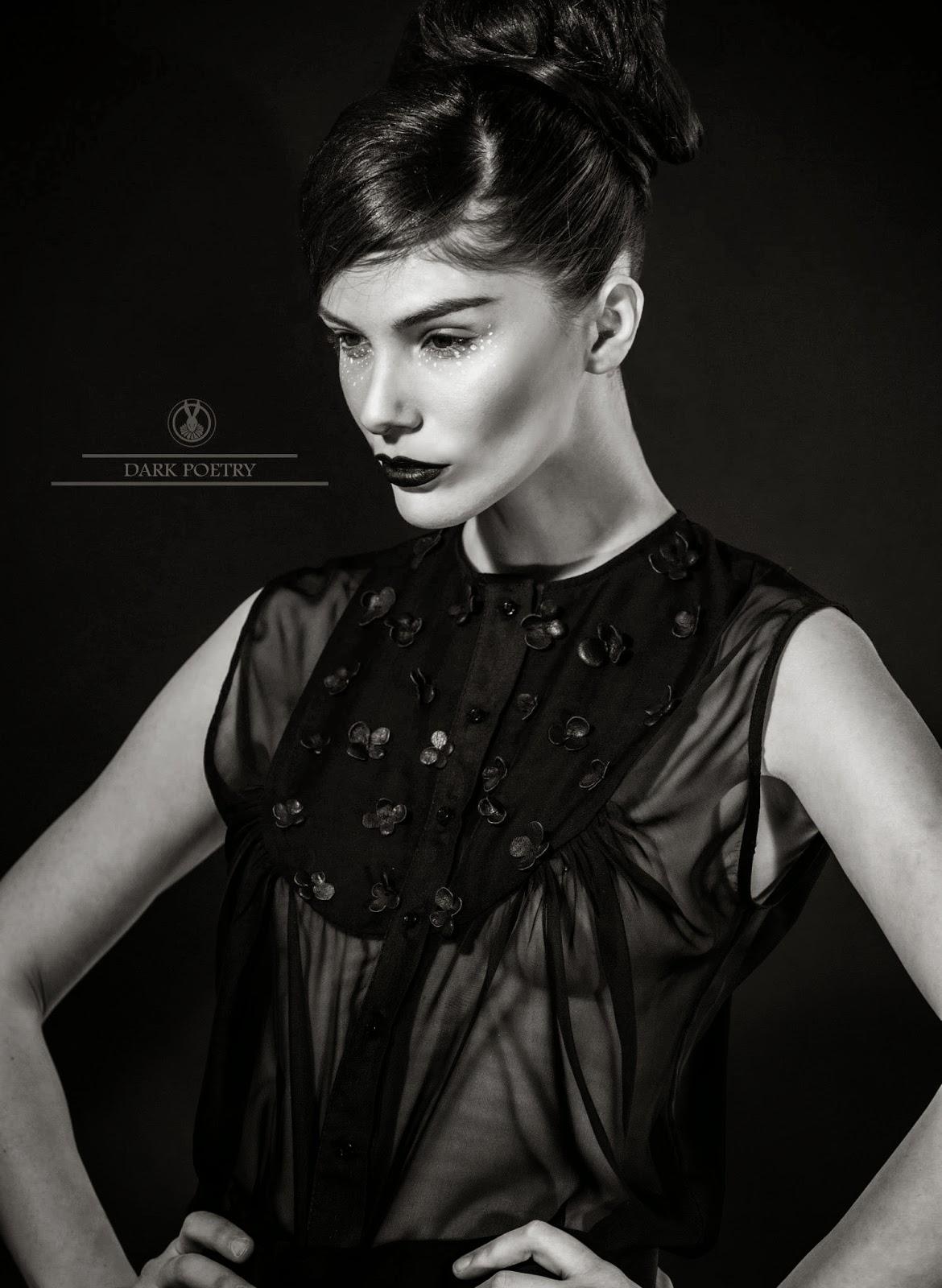 Zsuzsa Hidi Makeup Artist Beliv Dark Poetry Ii