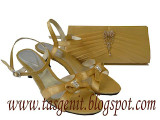 Tas Pesta Sandal Pesta Matching Set