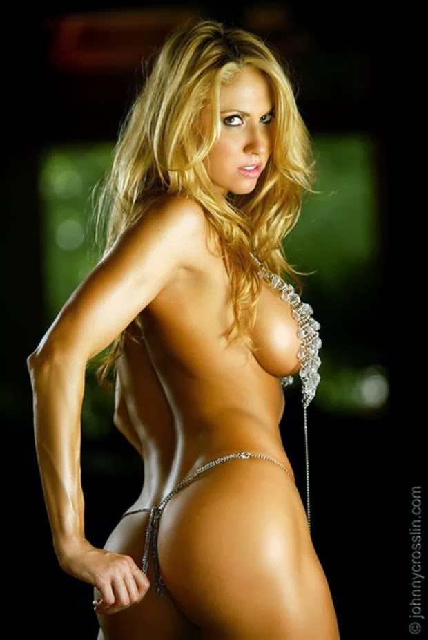 from Evan nude blonde fitness models