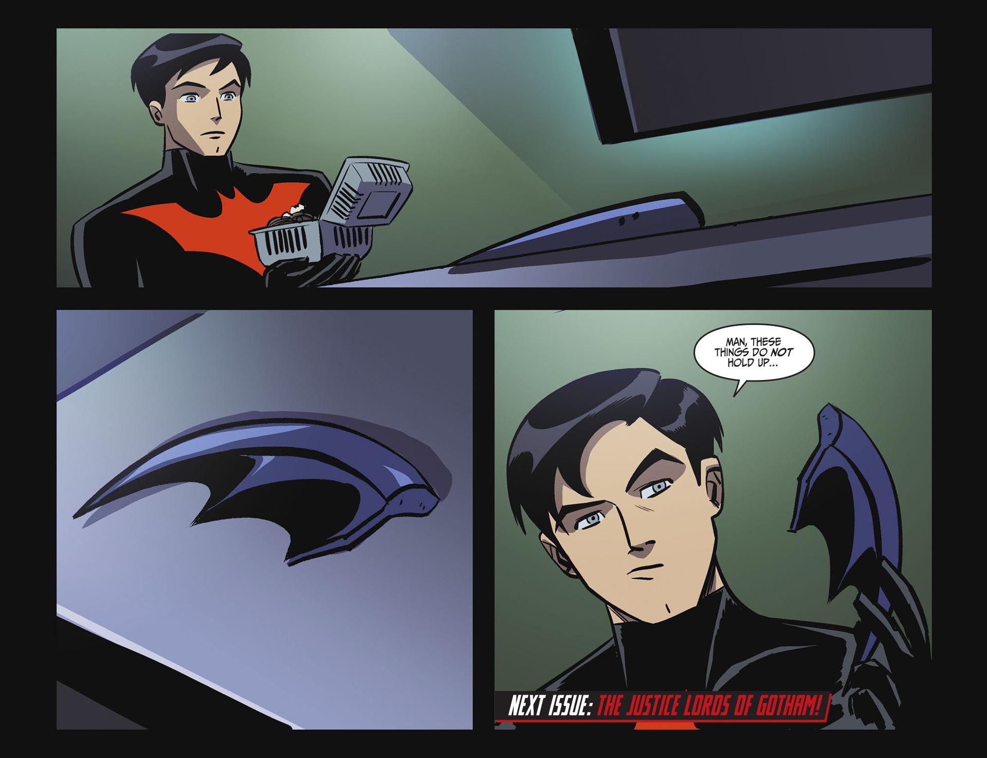 Batman Beyond 2.0 #16 #25 - English 22